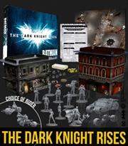 Batman Miniature Game - The Dark Knight Rises Game Box | Merchandise