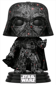 Star Wars - Darth Vader (Futura) US Exclusive Pop! with Protector [RS] | Pop Vinyl