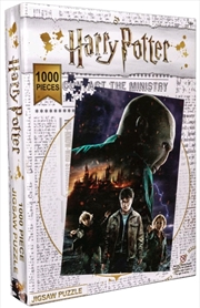 Harry Potter - Burning Hogwarts Jigsaw Puzzle | Merchandise