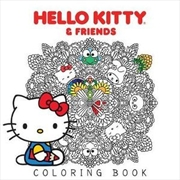 Hello Kitty & Friends Coloring Book | Paperback Book