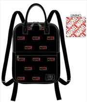 Loungefly - Marvel Comics - Logo Mini Backpack | Apparel
