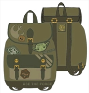 Star Wars - Green Canvas Patch Backpack | Apparel