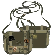 Star Wars - Green Canvas Patch Messenger Bag | Apparel