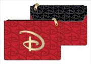 Disney - Red & Black Logo Purse | Apparel