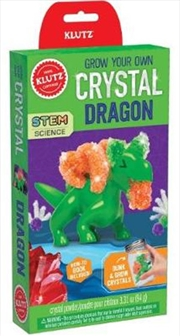 Grow Your Own Crystal Dragon | Hardback Book