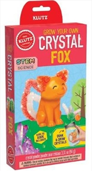 Grow Your Own Crystal Fox | Hardback Book