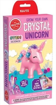 Grow Your Own Crystal Unicorn | Hardback Book