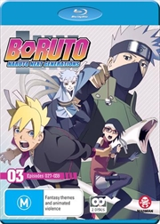 Boruto - Naruto Next Generations - Part 3 - Eps 27-39 | + Ova | Blu-ray