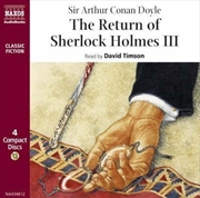 Return of Sherlock Holmes III | CD