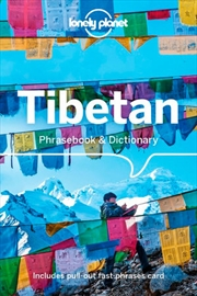 Lonely Planet Tibetan Phrasebook & Dictionary | Paperback Book