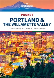 Lonely Planet Pocket Portland & the Willamette Valley Travel Guide | Paperback Book
