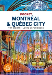 Lonely Planet Pocket Montreal & Quebec City | Paperback Book