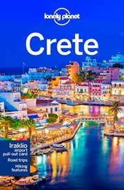 Lonely Planet Travel Guide Crete 7 | Paperback Book