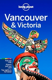 Lonely Planet: Travel Guide - Vancouver And Victoria 8 | Paperback Book