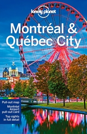 Lonely Planet: Travel Guide  - Montreal And Quebec City 5 | Paperback Book