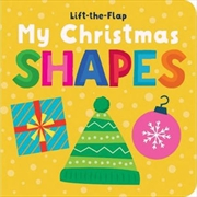 Lift the Flap My First Christmas Shapes | Hardback Book