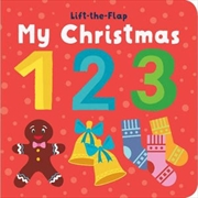 Lift the Flap My First Christmas 123 | Hardback Book
