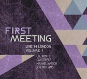 First Meeting - Live In London Vol.1 | Vinyl