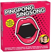 Ping Pong Sing Song | Merchandise