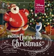 Olaf's Night Before Christmas (Disney Frozen: Book & CD) | Hardback Book