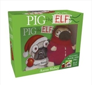 Pig the Elf - Mini Hardcover and Plush Toy | Paperback Book