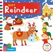 Busy Reindeer:Busy Books | Hardback Book