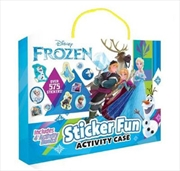 Frozen: Sticker Fun Activity Case | Hardback Book