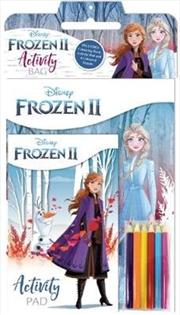 Frozen 2: Activity Bag | Paperback Book