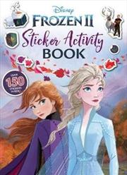Frozen 2 : Sticker Activity Book | Paperback Book