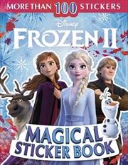 Disney Frozen 2 Magical Sticker Book | Paperback Book