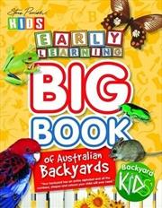 Steve Parish Australian Backyards: Early Learning Big Book | Paperback Book