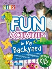 Steve Parish Fun Activities In My Backyard | Paperback Book