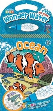 Steve Parish Wonder Water Colouring Book: In the Ocean | Paperback Book