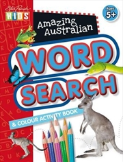 Steve Parish Amazing Australian Activity Book: Word Search & Colour | Paperback Book