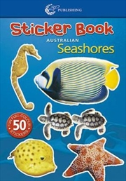 Steve Parish Mini Sticker Book: Australian Seashores | Paperback Book