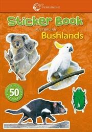 Steve Parish Mini Sticker Book: Australian Bushlands | Paperback Book
