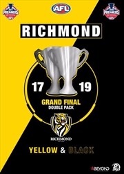 AFL - Richmond Yellow and Black Grand Final | Double Pack | DVD
