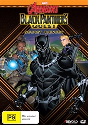 Avengers Assemble - Black Panther's Quest - Secret Avenger | DVD