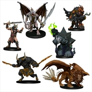 Dungeons & Dragons - Icons of the Realms Descent into Avernus Arkhan the Cruel & the Dark Order   Games