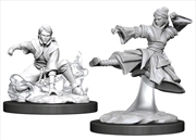 Dungeons & Dragons - Nolzur's Marvelous Unpainted Minis: Female Human Monk | Games