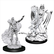 Dungeons & Dragons - Nolzur's Marvelous Unpainted Minis: Lich & Mummy Lord | Games