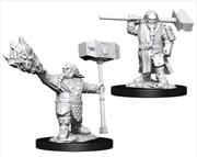 Dungeons & Dragons - Nolzur's Marvelous Unpainted Minis: Male Dwarf Cleric   Games