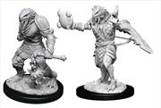 Dungeons & Dragons - Nolzur's Marvelous Unpainted Minis: Male Dragonborn Paladin   Games