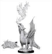 Dungeons & Dragons - Nolzur's Marvelous Unpainted Minis: Gold Dragon Wyrmling & Treasure   Games