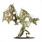 Pathfinder - Deep Cuts Unpainted Miniatures: Gargantuan Skeletal Dragon | Games
