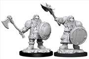 Dungeons & Dragons - Nolzur's Marvelous Unpainted Minis: Male Dwarf Fighter   Games