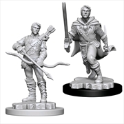 Dungeons & Dragons - Nolzur's Marvelous Unpainted Minis: Male Human Ranger | Games