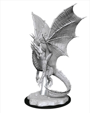 Dungeons & Dragons - Nolzur's Marvelous Unpainted Minis: Young Silver Dragon | Games