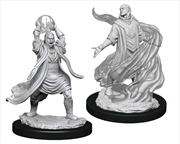 Dungeons & Dragons - Nolzur's Marvelous Unpainted Minis: Male Elf Sorcerer | Games