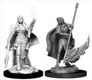 Pathfinder - Deep Cuts Unpainted Miniatures: Female Human Oracle (Magic)   Games